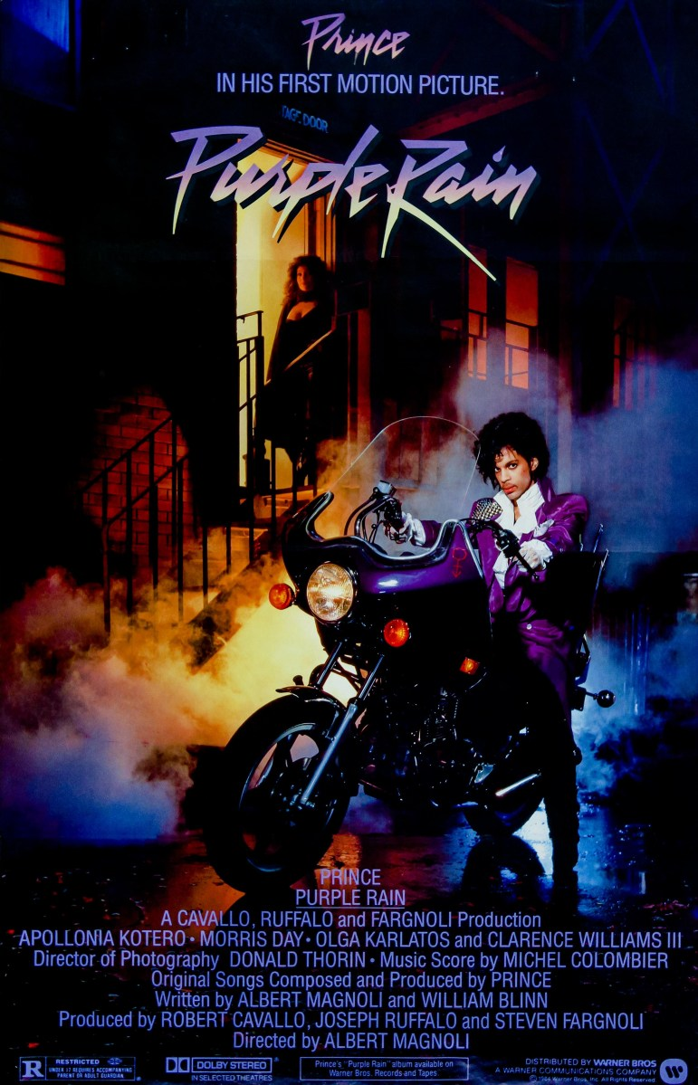 Prince and The Revolution Purple Rain When Doves Cry & Let's Go Crazy