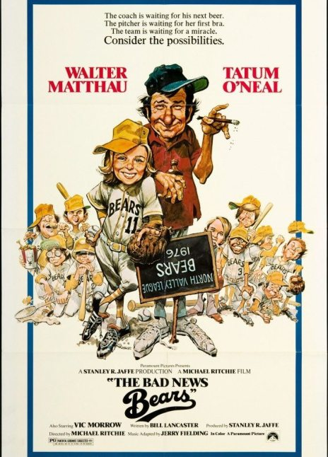 Derek Begins… 7  Michael Ritchie's  The Bad News Bears