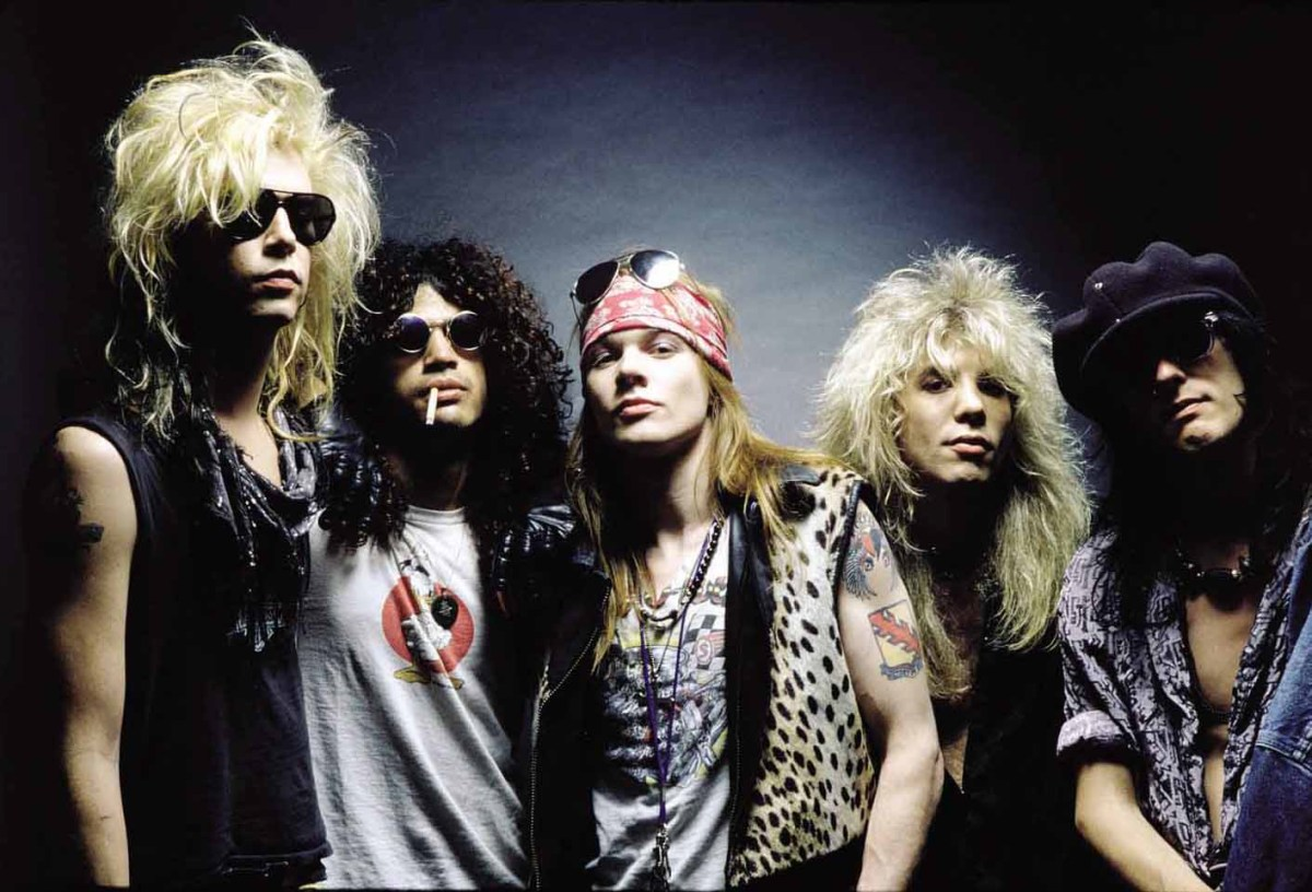 Guns N' Roses From The Jungle To Patience & Live At The Ritz