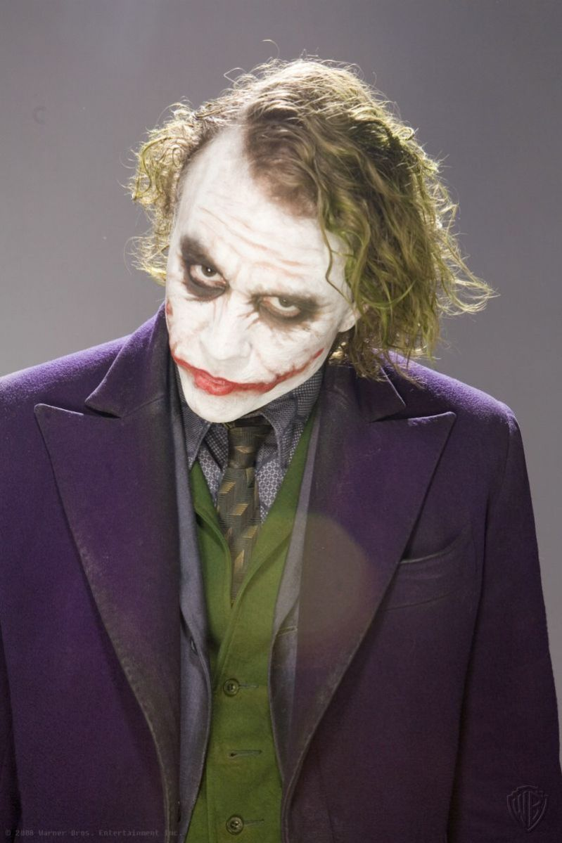 Heath Ledger As Joker Lost The Dark Knight Promotional Photoshoot Images