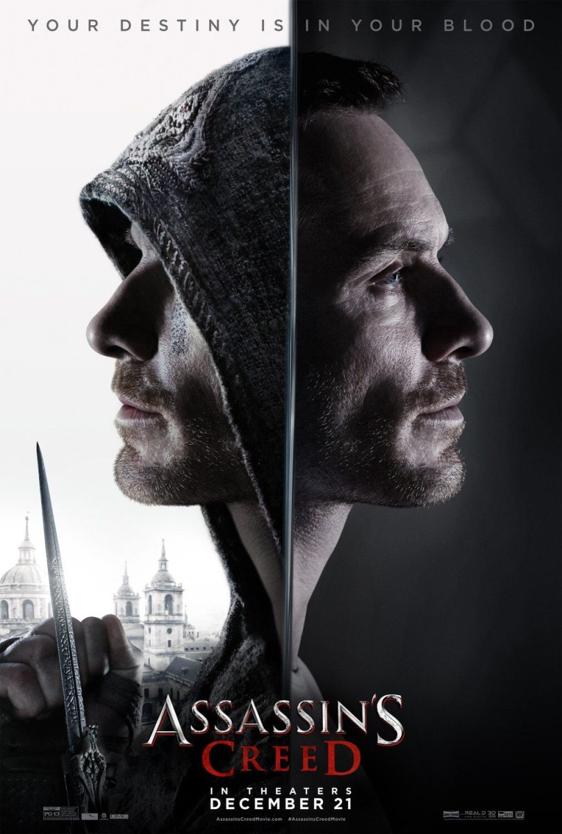 Assassin's Creed  Michael Fassbender  Trailers & Art