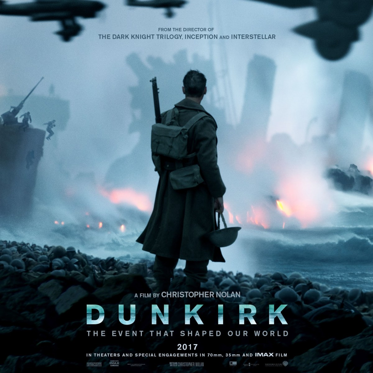 Christopher Nolan Dunkirk Official Main Trailer