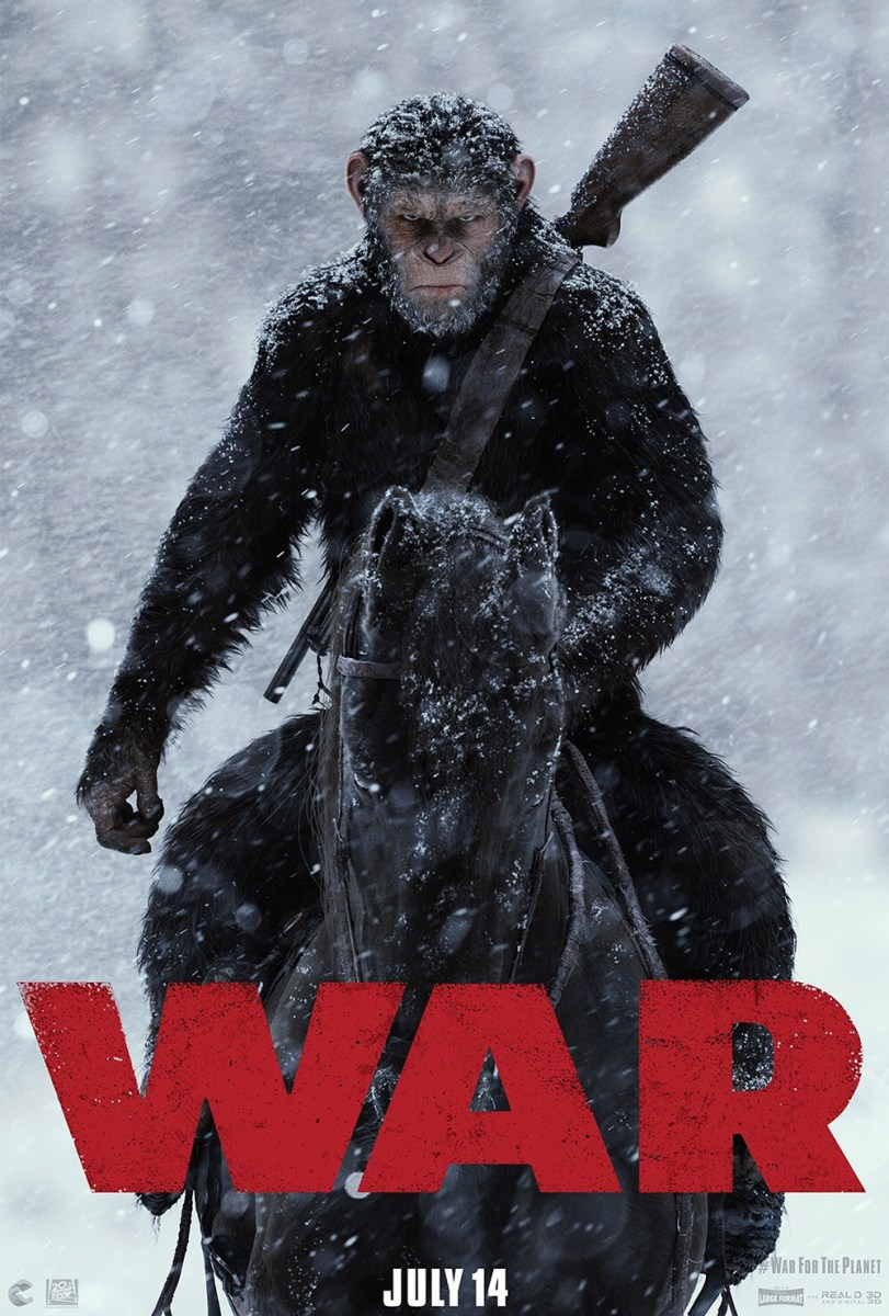 War For The Planet Of The Apes  Teaser, Trailer & Key-Art