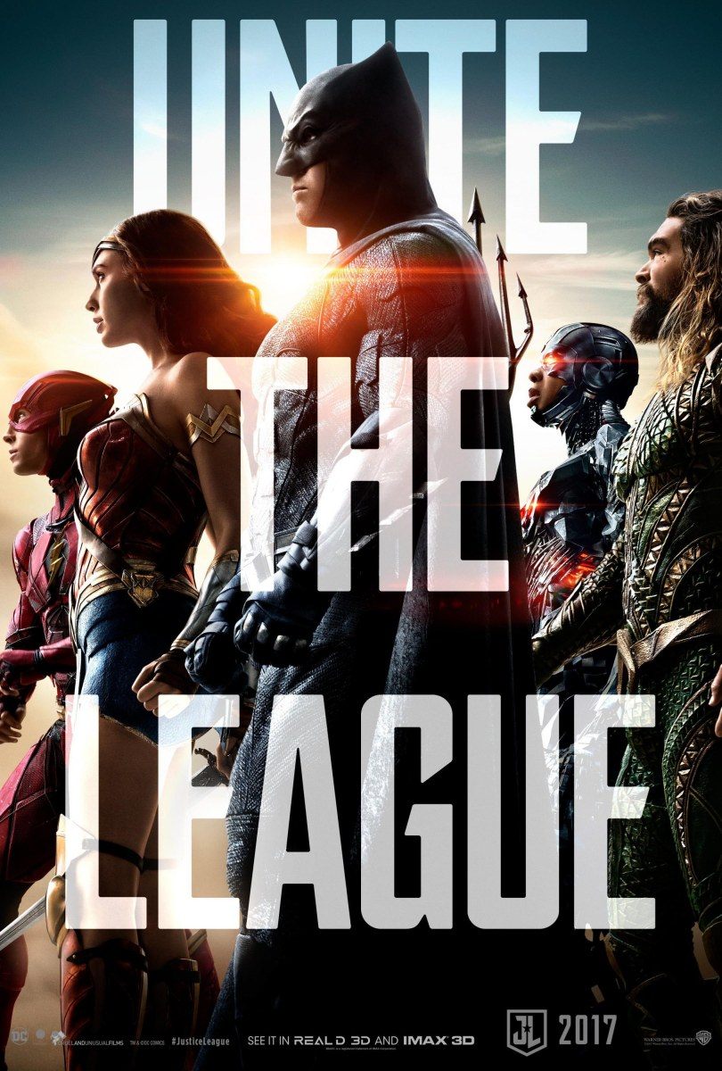 Justice League Official TrailerUnite The League Teasers & Key-Art