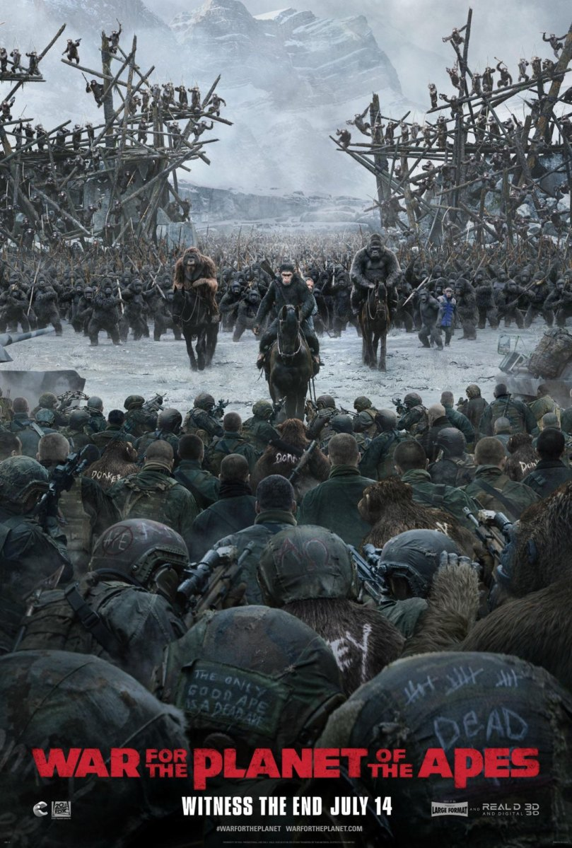 War for the Planet of the Apes Final Trailer & Key-Art