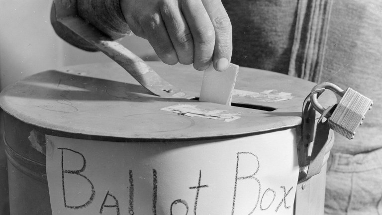 Without a Board of Elections the referendum can't produce official results