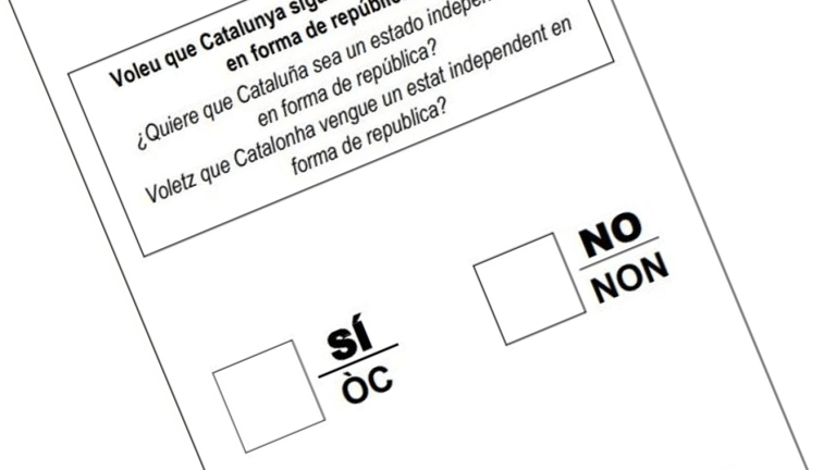The expressive vote for independence
