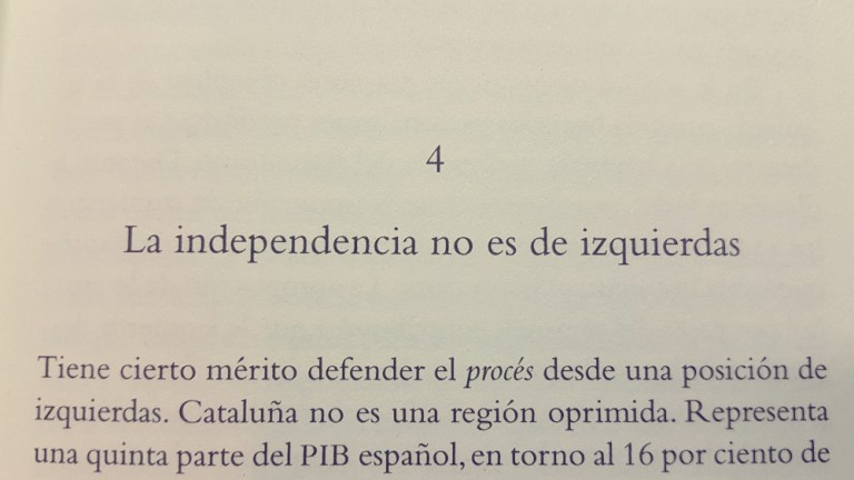 Chapter Four: «Independence is not Leftist»