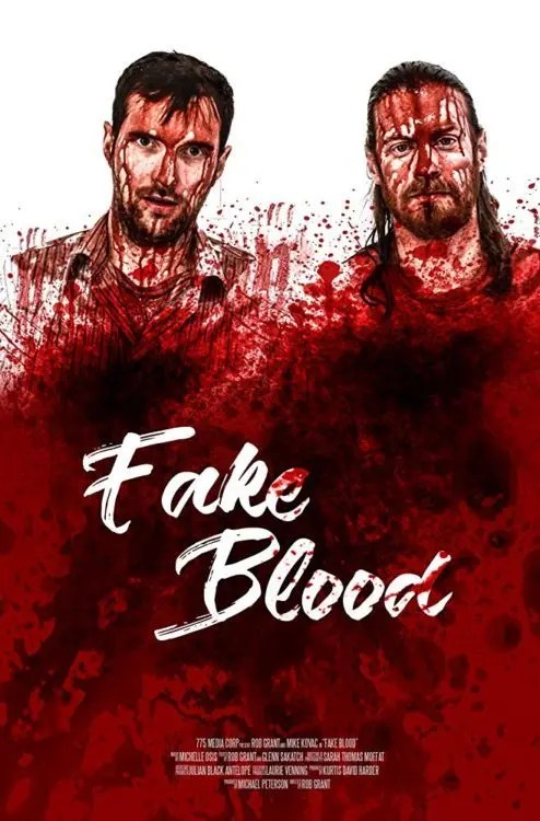 Fake Blood Poster