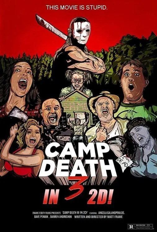 CAMP DEATH 3 POSTER