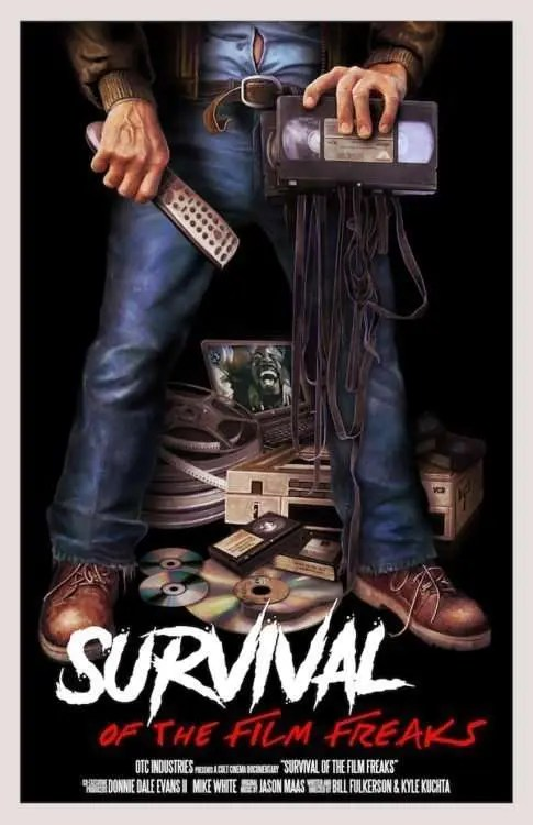 Survival of The Film Freaks Poster