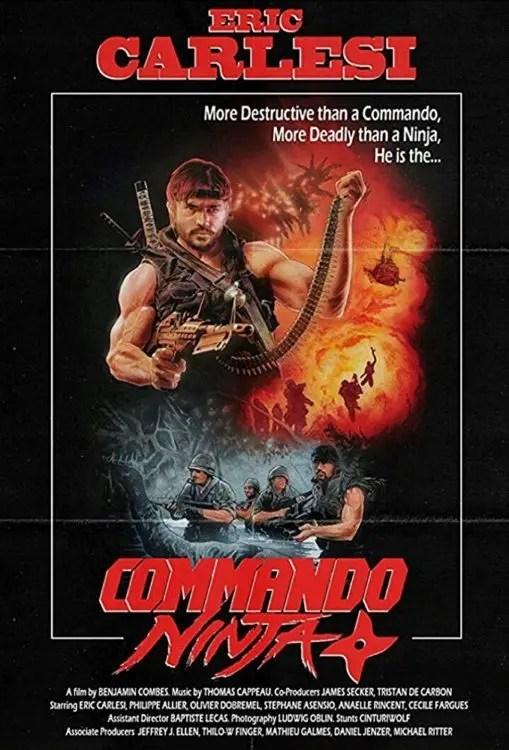Commando Ninja Poster