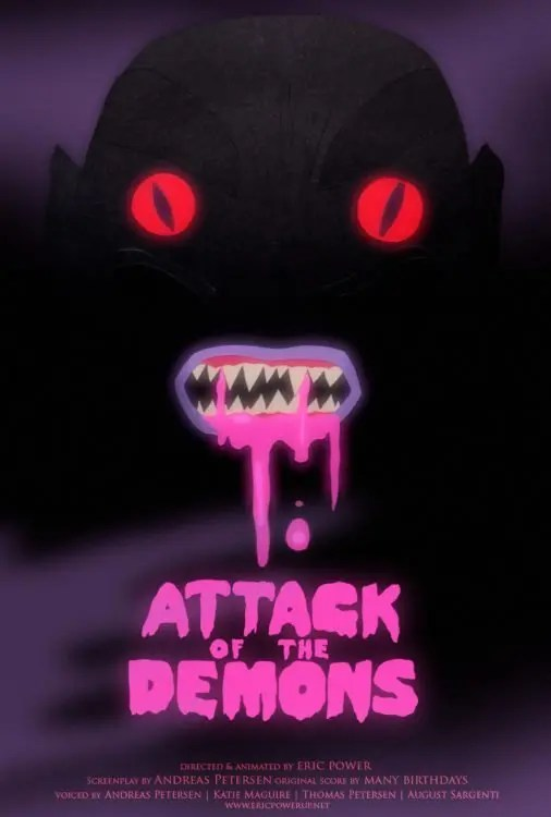 Attack Of The Demons Poster2
