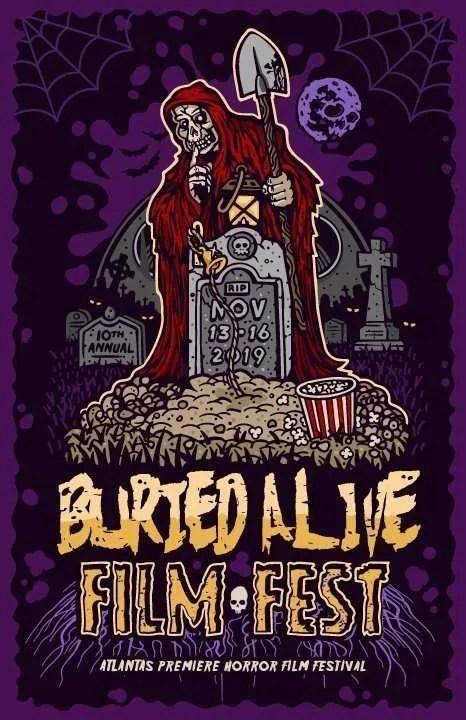 2019 Buried Alive Logo