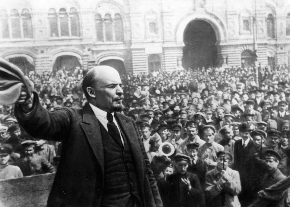Lenin-rally