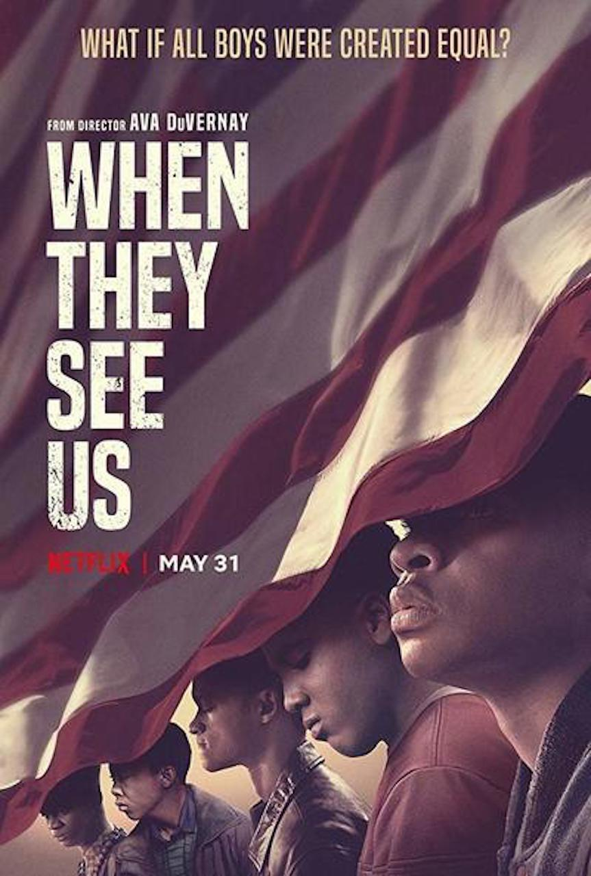 We Continue our admiration for  and engagement with Ava DuVernay's Brilliant  When They See US