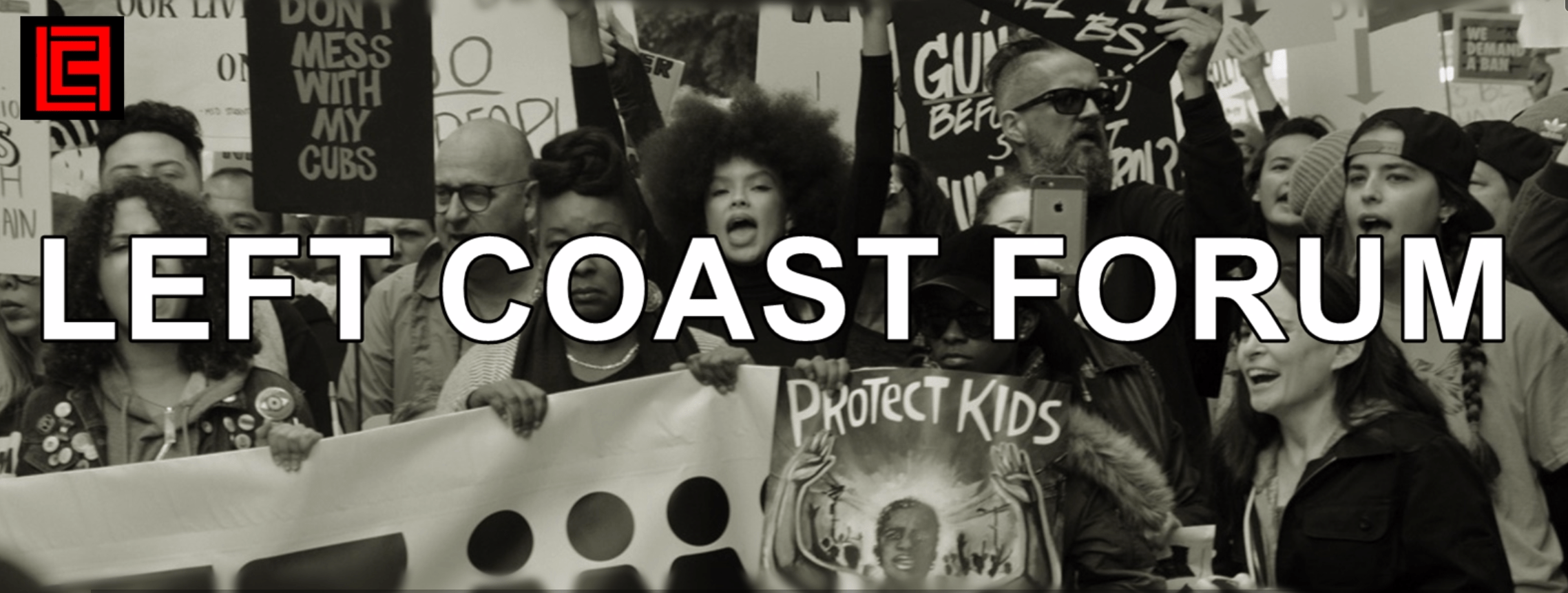 Voices Radio: 2019's Left Coast Forum: The Centrality of Race and the Urgency of Movement-Building. Tune in to hear more about the forum and how you can participate.