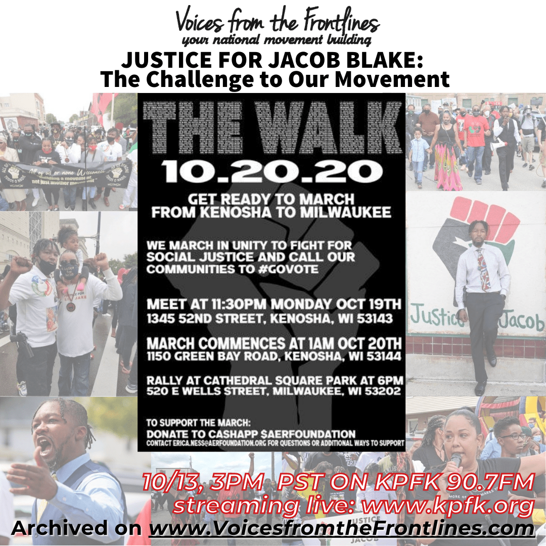 Voices Radio: Justice for Jacob Blake–The Challenge to Our Movement