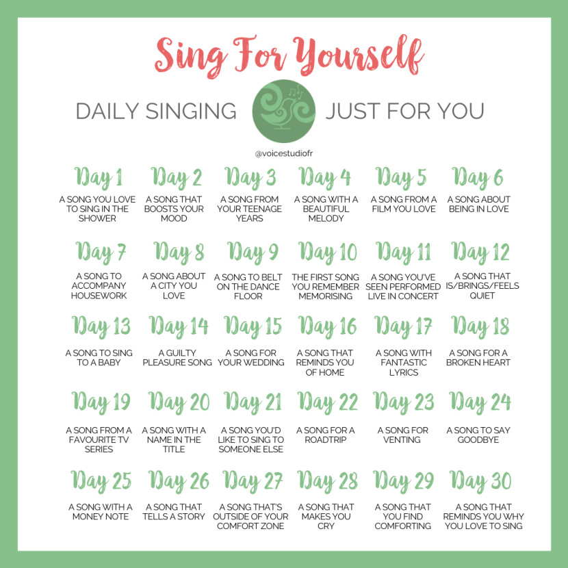 Sing for Yourself