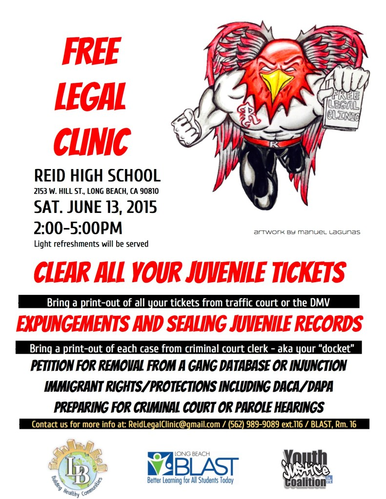 Legal Clinic Flyer
