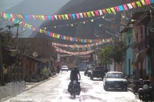 Traversée de Huallanca