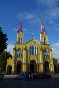 Eglise colorée de Castro