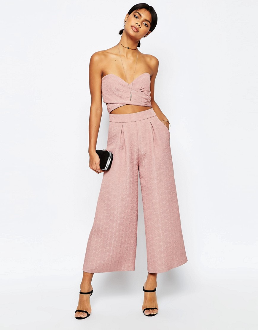 ASOS Two in One Jumpsuit $74, at asos.com