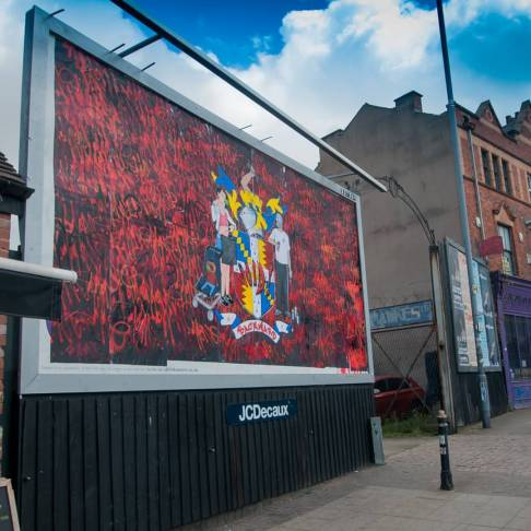 Backward Billboard - Digbeth