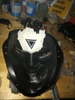 Void One - Rear Mask Details