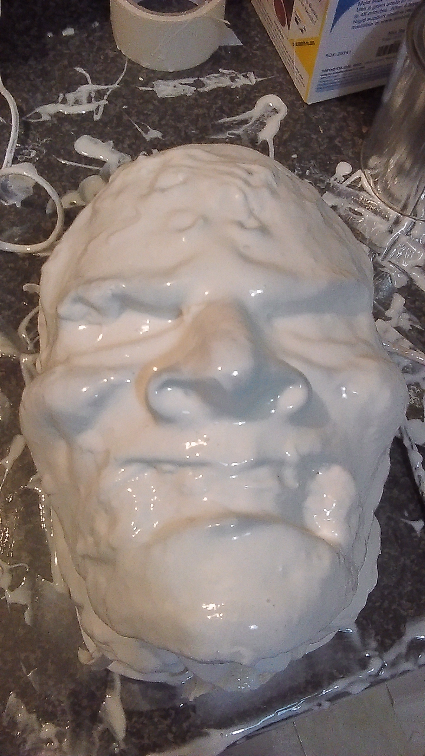 Void One - Silicone Layer Front