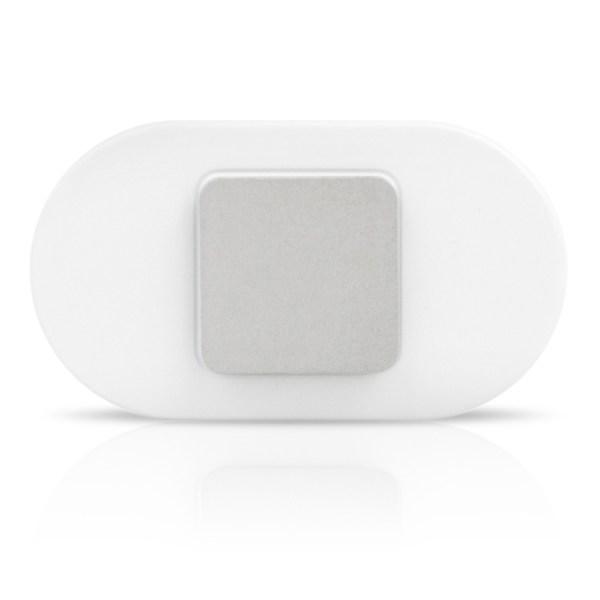 White Lumo Lift - Brushed Aluminium clasp