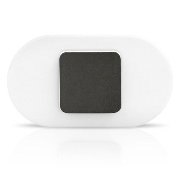 White Lumo Lift - black clasp