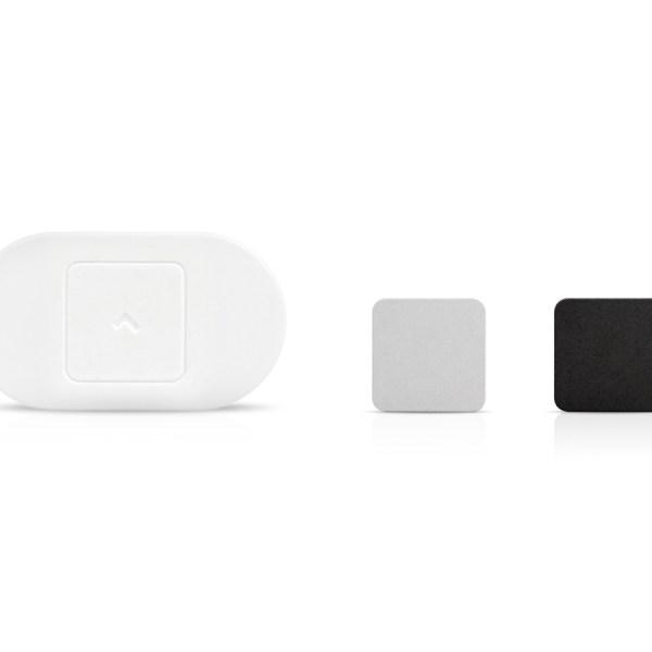 White Lumo Lift showing clasp set