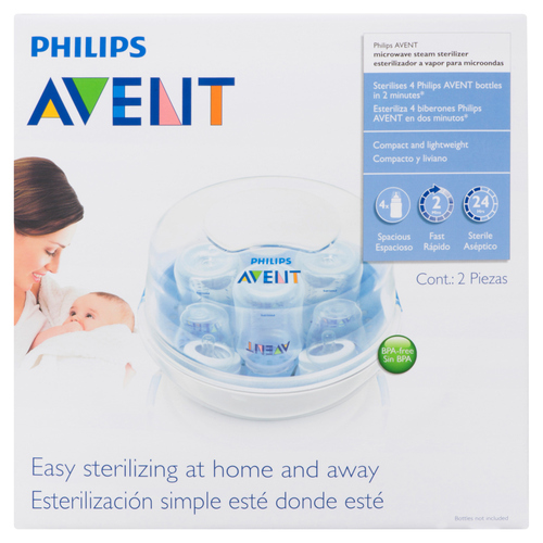philips avent microwave bottle steam