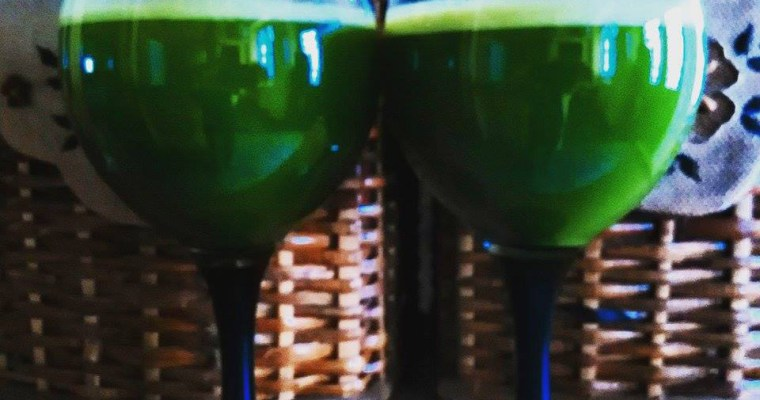 Zumo verde anticelulítico