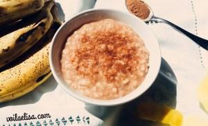 arroz-leche-platano-fruta-carbohidratos-bajo-grasa- sin-lactosa-gluten-azucar-refinado-