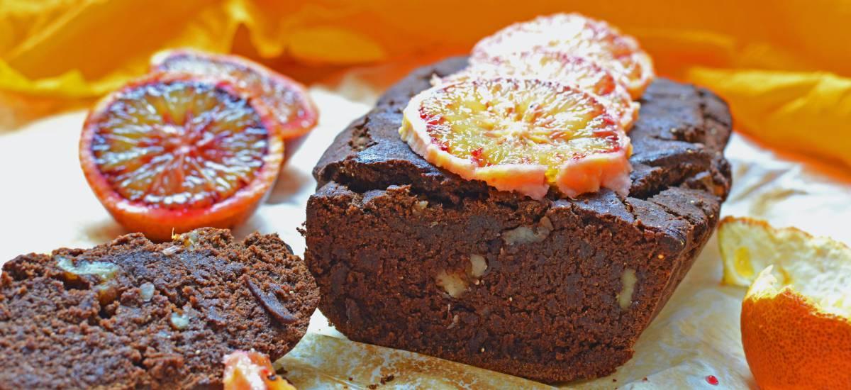 Plum cake de chocolate y naranja