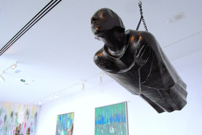 floating angel ernst barlach museo jorge rando