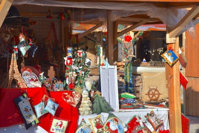 christmas market malaga port