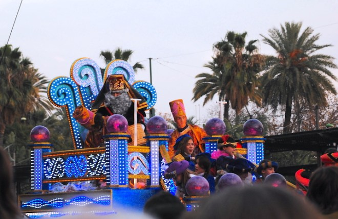 three kings parade things to see in malaga in Christmas