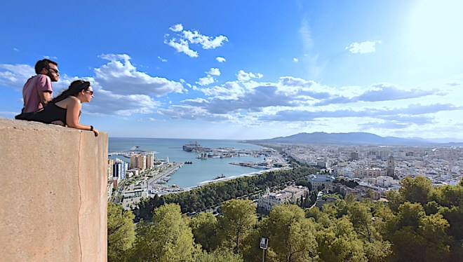 gibralfaro castle malaga must do