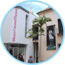 malaga attractions carmen thyssen museum