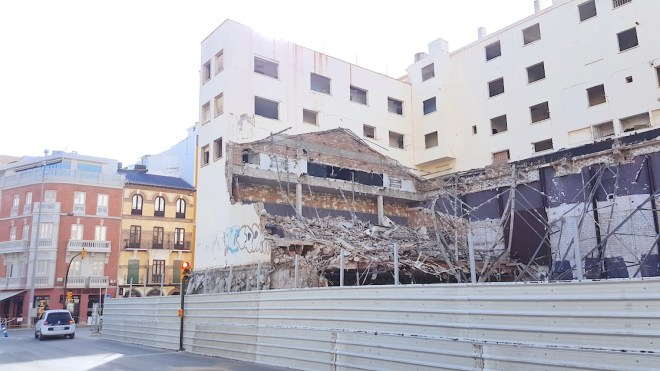 cine astoria demolicion