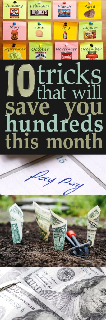 How to Save Tons of Money, How to Save Tons of Money Every Month, Money Saving Tips and Tricks, Simple Ways to Save Money Monthly, Popular Pin