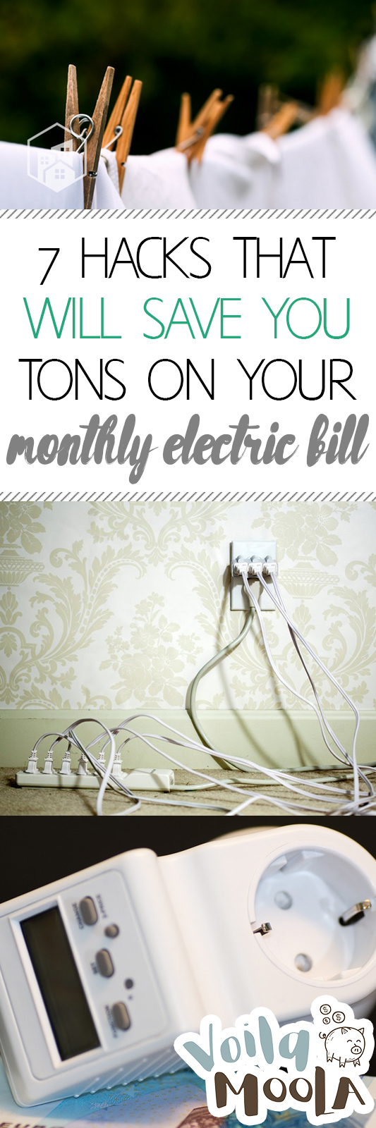 7 Hacks That Will Save You Tons on Your Monthly Electric Bill| Save Money, Saving Money, How to Save Money, How to Save Money on Utilities, Electric Bill, Pay Less for Utilities #SaveMoney #SaveonUtilities #Money