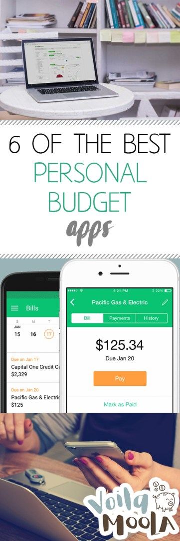 6 of the Best Personal Budget Apps| Budget Apps, Personal Budget Apps, Budgeting, Budgeting Apps, Save Money, How to Save Money, Popular Pin #Budgeting #BudgetingApps