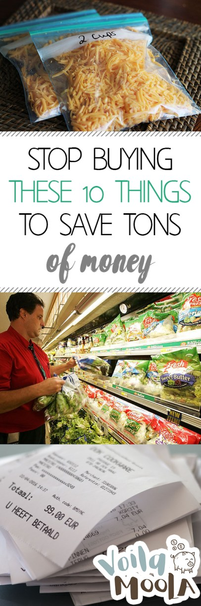 Stop Buying These 10 Things to Save Tons of Money| Save Money, Money Saving Hacks, Money Saving Tips and Tricks,  Money, Money Hacks, Popular Pin #Money #MoneyHacks #SaveMoney