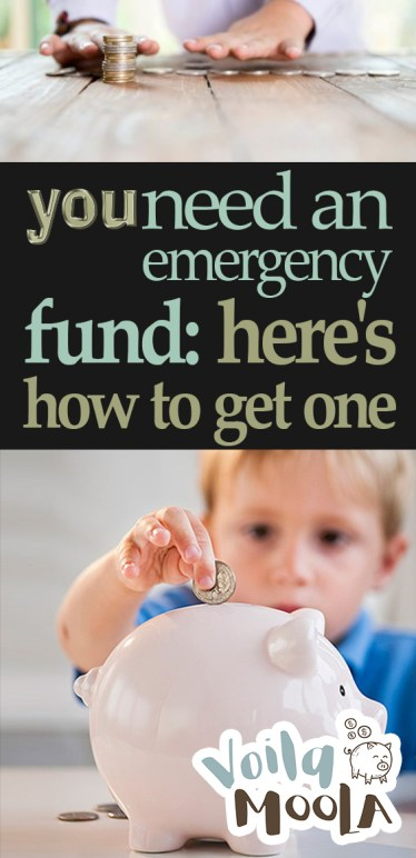 You Need an Emergency Fund: Here's How to Get One| Emergency, Emergency Fund, Save Money, Save More Money, How to Save More Money, Saving Money, Popular Pin #Savings #SaveMoney