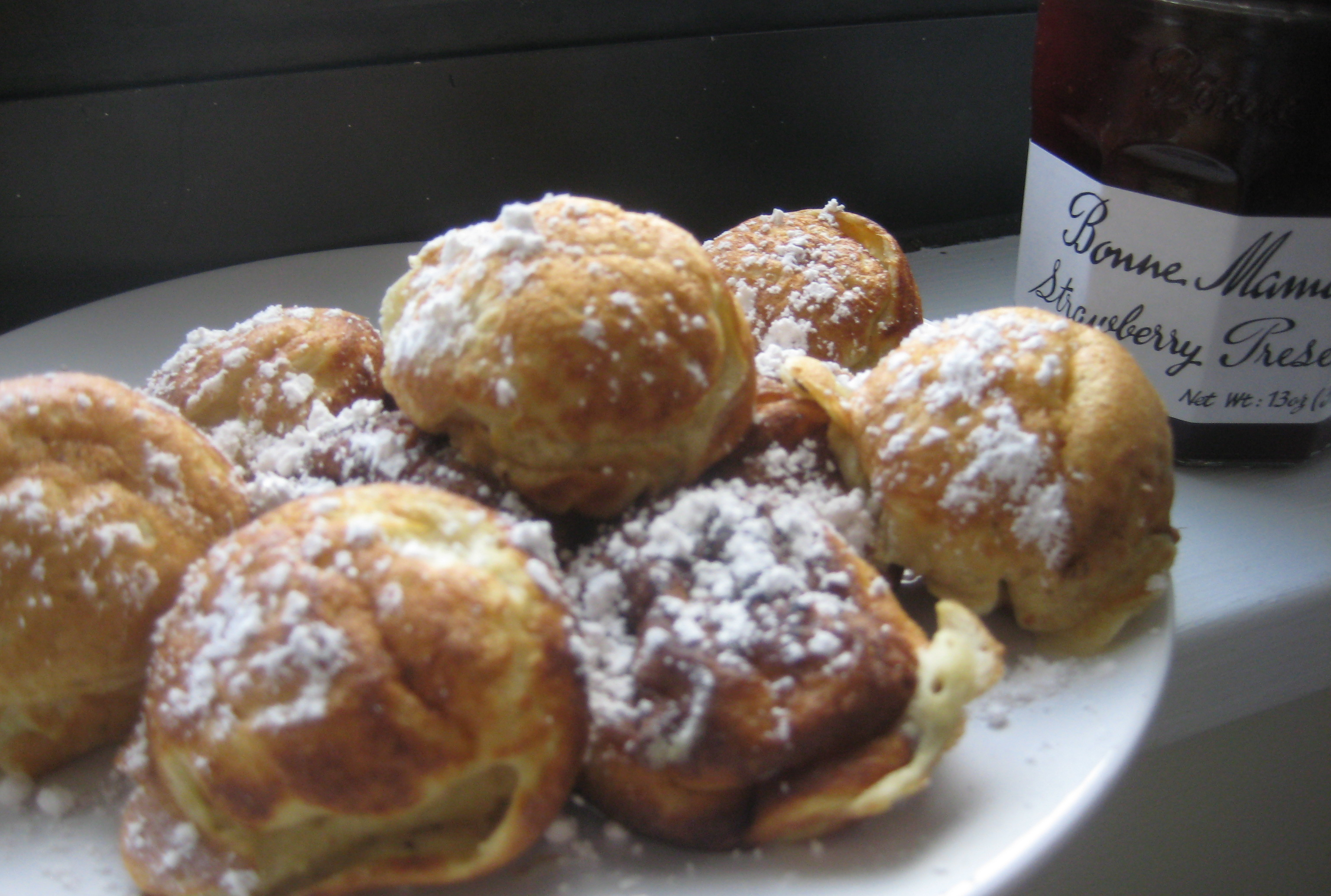 aebleskiver with jam