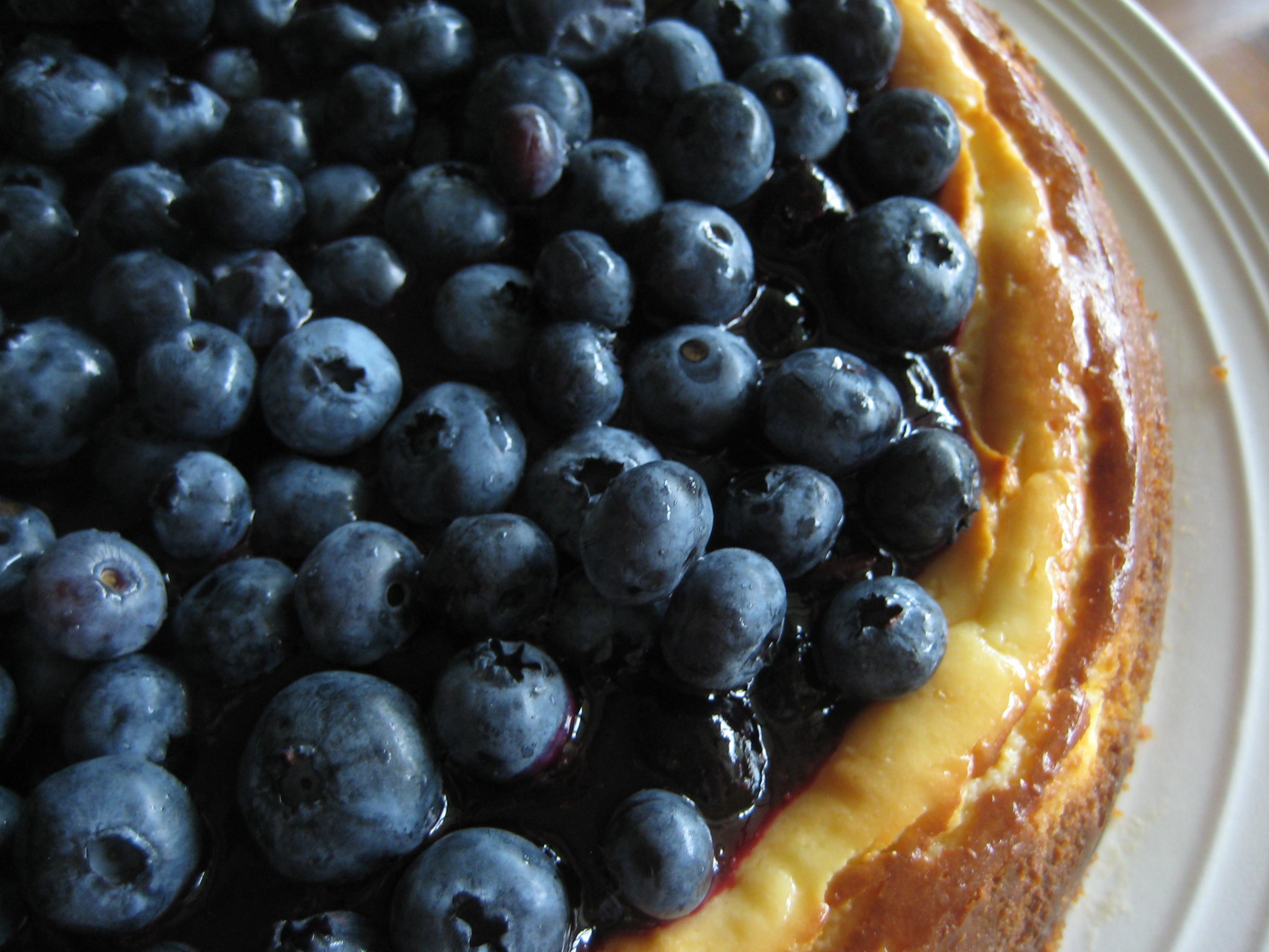 blueberry key lime cheesecake
